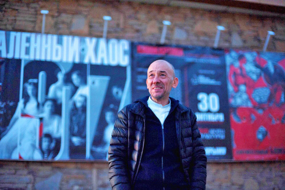 A series of Crimean premieres of the film Scorching Chaos commences in Krasnoperekopsk